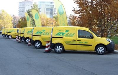 """Основните инвестиции на """"Спиди"""" през тази година са в транспортни средства. СНИМКА: Снимка: """"24 Часа"""""""