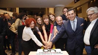 Представители на 7-те балкански агенции на създаването на Балканския хъб