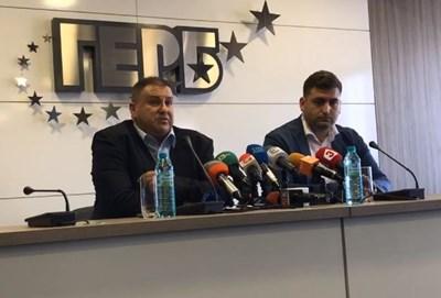 Емил Радев и Андрей Новаков КАДЪР: Фейсбук/ГЕРБ