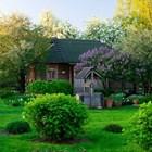 Кънтри стил в градината