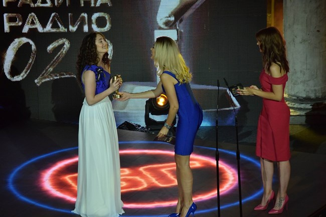 Алма получи приза за дебют.