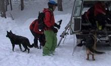 Изчезналият сноубордист не е в района на лавината в Рила. Телефонът му е локализиран в дере