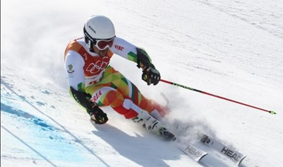 Алберт Попов завърши на 28-о място на олимпиадата в ПьонгЧанг. СНИМКА: Костадин Андонов