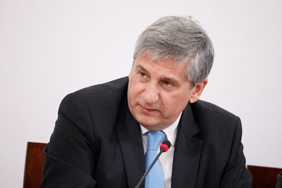 Генералният директор на Международния център за развитие на миграционни политики д-р Михаел Шпинделегер