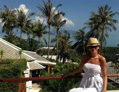 Зейнеб по време на екскурзията си в Тайланд  СНИМКА: ЛИЧЕН АРХИВ
