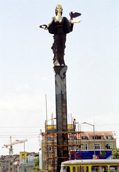 Статуята на София СНИМКА: 24 часа