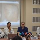 Д-р Марин Пенков, д-р Емануил Найденов, доц. Станимир Сираков и доц. Васил Каракостов (от ляво на дясно)  разказват, че екипът поема предизвикателството да оперира в името на единствения шанс за Божидар.