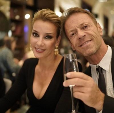 Със съпругата си Роза, която е унгарка СНИМКИ: ИНСТАГРАМ