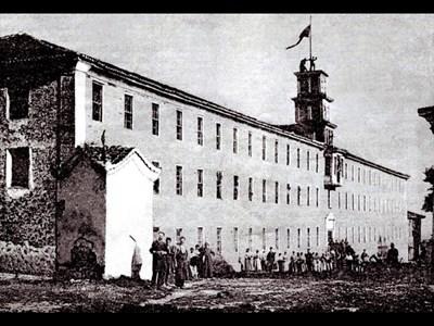 Автентична снимка на фабриката на Добри Желязков.
