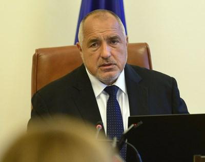 Борисов поиска три министерски оставки. Снимка ЙОРДАН СИМЕОНОВ