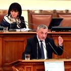 Валери Симеонов обяви решението пред медиите.