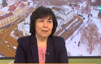 Проф. Пенка Петрова, директор на Института по микробиология към БАН