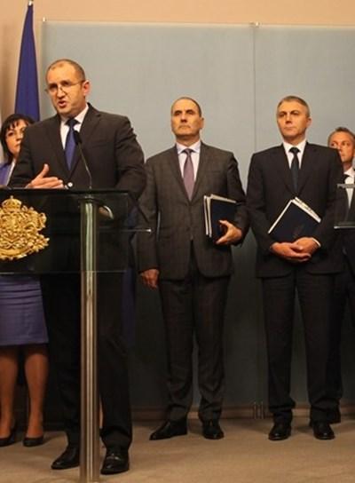 Цветанов: Само 2 от предложенията на Радев за антикорупцията не бяха приети
