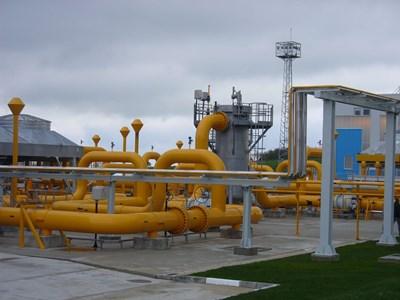 """Новата компресорна станция """"Странджа 2"""" бе открита миналата година. В нея от държавния бюджет бяха вложени 70 млн. лв.   СНИМКА: Ваньо Стоилов"""