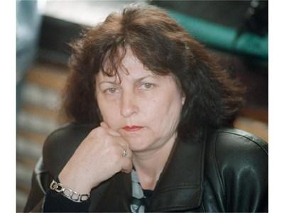 Калинка Борисова по време на заседание в съда през 2005 г.