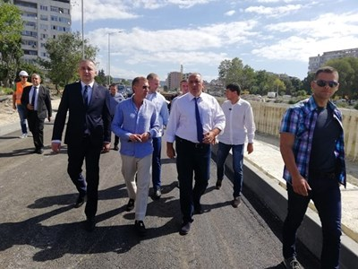 Премиерът Бойко Борисов във Варна Снимка: Министерски съвет