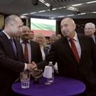 Премиерът Бойко Борисов и президентът Румен Радев седяха маса до маса на 30-ия рожден ден на КНСБ.