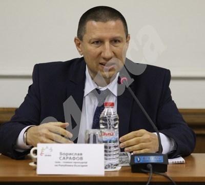Новият шеф на Националната следствена служба Борислав Сарафов