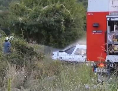 Падналият самолет край Шумен  КАДЪР: Нова телевизия/vbox7