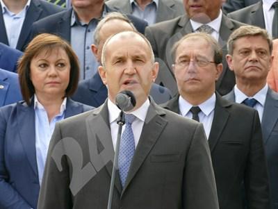 Президентът Румен Радев говори на празника на Асеновград.