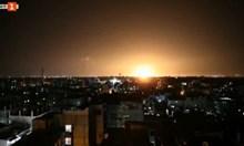 Израел удари Газа след серия пожари заради балони със запалителна течност