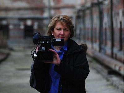 Авторката Белинда Хоукинс пред Централния софийски затвор