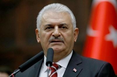 Министър-председателят на Турция Бинали Йълдъръм СНИМКА: Ройтерс