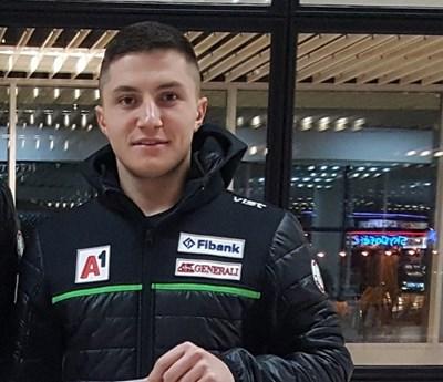 Йоан Тодоров направи така, че България да има трима представители в слалома на световното. Снимка БФСки