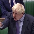 Борис Джонсън заяви, че ще се откаже от опитите си да получи одобрението на парламента за своя законопроект за Брекзит и ще настоява за предсрочни избори. Снимка РОЙТЕРС