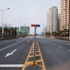 Улиците на китайски град в близост до центъра на епидемията в град Ухан са пусти.