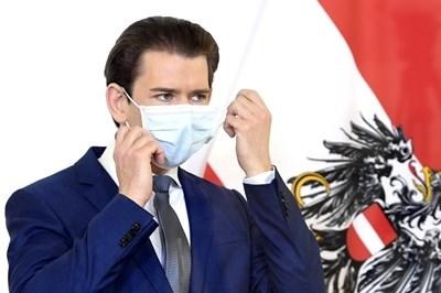 Австрийският федерален канцлер Себастиан Курц СНИМКА: Ройтерс