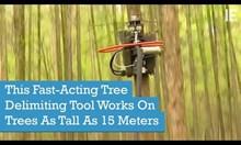 Машина за кастрене на дървета