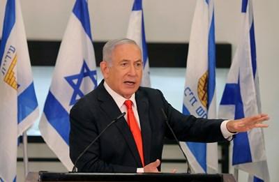 Израелския премиер Бенямин Нетаняху СНИМКА: Ройтерс