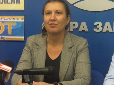 Златина Йовчева, председател на РИК в Стара Загора СНИМКА: Ваньо Стоилов