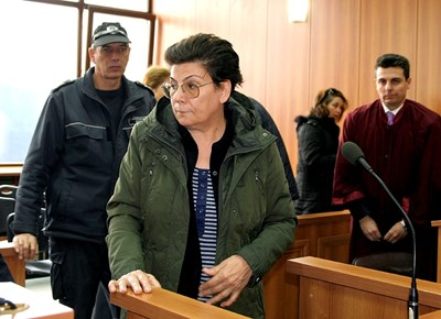Иванка на делото за мярката й СНИМКА: Наташа Манева