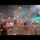 Снощните протести в Сърбия