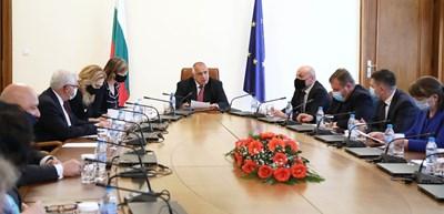 Извънредното правителствено заседание днес