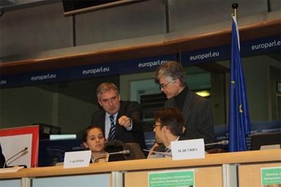 Ивайло Калфин на конференцията в Брюксел