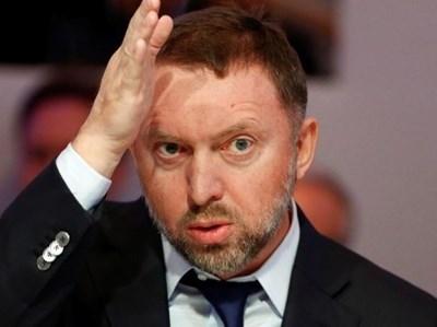 Руският бизнесмен Олег Дерипаска  СНИМКА: Ройтерс