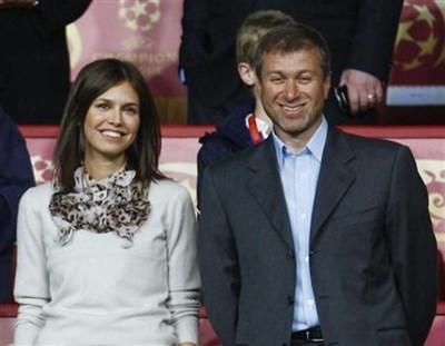 Роман Абрамович и Дария заедно през 2008 г.