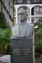 Паметник на Удроу Уилсън в Св. Влас