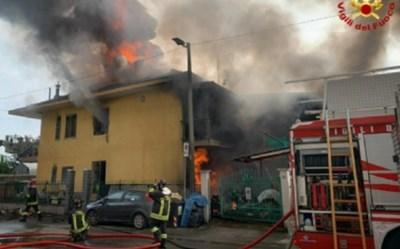 СНИМКА: Италиански пожарникари