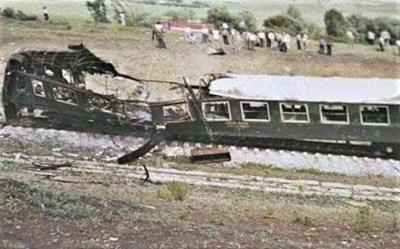 Седем души загиват във влака на гара Буново.