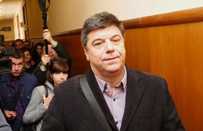 Петко Дюлгеров, заснет в спецсъда. СНИМКА: Йордан Симeонов