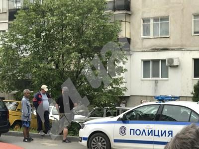 Блокът, в който се е разиграла кървавата драма в Казанлък СНИМКИ: Авторът СНИМКА: 24 часа
