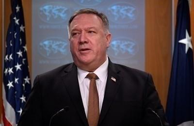 Американският държавен секретар Майк Помпейо СНИМКА: Ройтерс