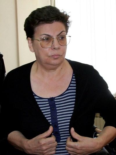 Иванка Ройдова не се яви днес на делото. СНИМКИ: Наташа Манева