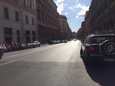 Улиците на Рим са празни заради карантината СНИМКА: Виолина Христова