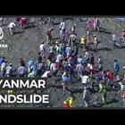 162 станаха жертвите на свлачището в мина в Мианма (Видео)