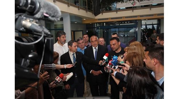 Борисов: Не сме победили Макрон, не става с удряне по масата, а с диалог